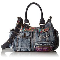 Poseta Desigual London mini denim
