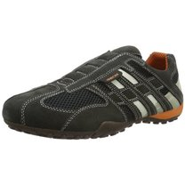 Sneakers Geox Snake L gri inchis