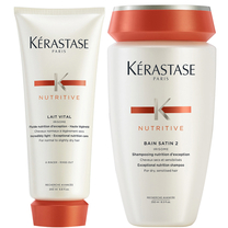 Kerastase Nutritive Bain Satin 2 Complete Nutrition set