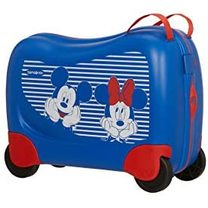 Valiza copii Samsonite Mickey Minnie albastru