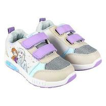 Adidasi Disney Frozen luminite bej lila