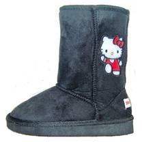 Cizme gen UGG Hello Kitty negru