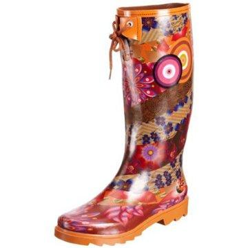 oferte exclusive coduri promoționale cumpărarea ieftină Iulia Cumpara Pantofi - Cizme de cauciuc Wellington Desigual oranj ...
