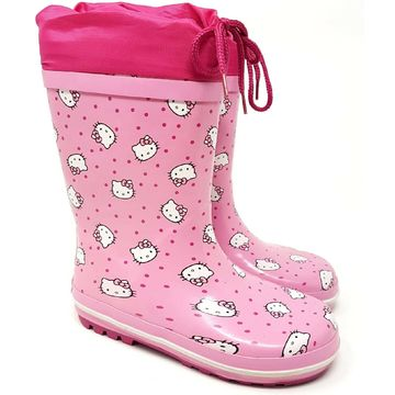 Cizme de cauciuc Hello Kitty roz multi